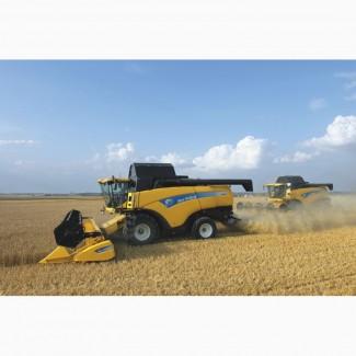 Комбайны New Holland для уборки подсолнечника, кукурузы, зерновых