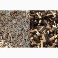 Продаємо дрова та щепу хвойних порід деревини для опалення