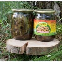 Продам гриби консервовані опеньки, лисички, маслюки, білі