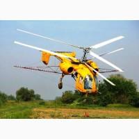 Авиахимработы вертолетами