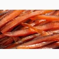 Соломка лосося вяленого продам