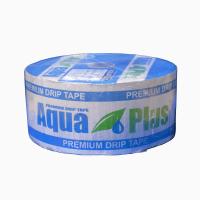 Крапельна стрічка Аква Плюс AquaPlus 8 mil через 20 см 500 л за годину щілинна 500 м