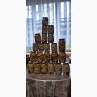 Продам консервовані та сушені( на дровах) грибочки