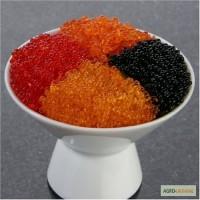 Широкий ассортимент натуральной икры Черная, красная, щучья