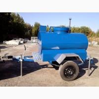 Причіп - цистерна харчової ізотермічна для перевезення та зберігання води об'ємом 1000л