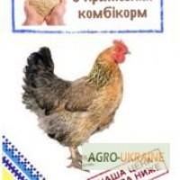 Комбикорм для курей несушек ПК 1-25