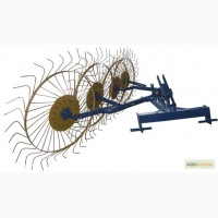 Грабли ворошилки (Солнышко) 4-ёх колесные для трактора