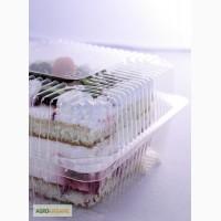 Прозрачные лотки для пирожных, кондитерских изделий