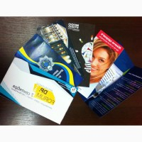 Печать полиграфии: визитки, каталоги, книги, флаеры, журналы, календари, плакаты, брошюры