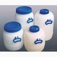 Бидон пластиковый пищевой и технический от 20 до 120 литров(от 4 штук)