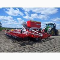 Услуги посева зерновых сои кукурузы подсолнечника рапса посевным комплексом аренда сеялки