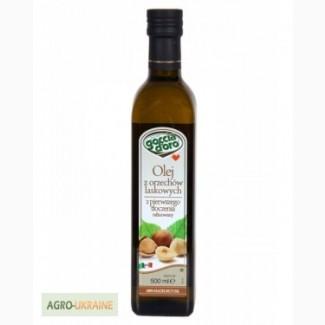 Продукты Италии. Масло лесного ореха