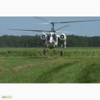 Внесение хелатных микроудобрений самолетом и вертолетом