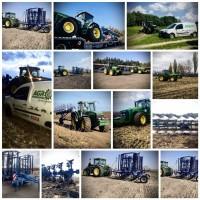 Надаємо послуги обробітку грунту та оренди тракторів JOHN DEERE без агрегатів