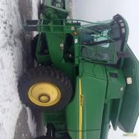 Комбайн зерноуборочный John Deere 9750 STS и Жатка John Deere
