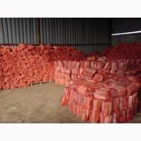 Дрова в сетках фруктовые для мангала, бани, камина, сетка 15дм3