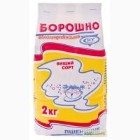 Борошно пшеничне білоцерківське пшеничне вищого сорту, 2 кг