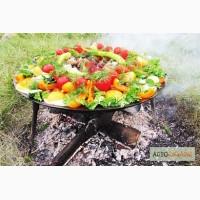 Сковорода для пикника из диска