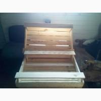 Деревянный ящик для овощей и фруктов 120х400х565