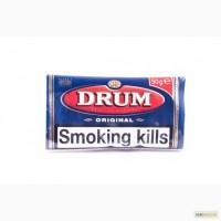 Импортный табак для самокруток DRUM Original, Blue - DUTY FREE