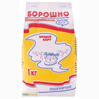 Борошно пшеничне Білоцерківське пшеничне вищого сорту, 1 кг