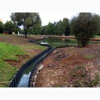 Копка декоративных прудов, водоемов, поливных мелиорационных каналов, дренажных каналов