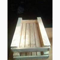 Ящик для овощей и фруктов 120х400х605 деревянный