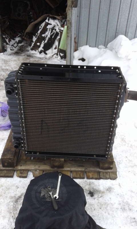 Радиатор т 150 на маз своими руками 83