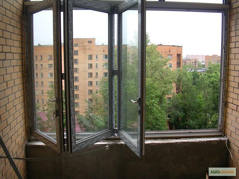 Фото к объявлению: раздвижные слайдинговые окна на балконы, .