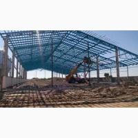 Будівництво промислових об'єктів (склади, ангари, вироб.приміщ, ферми)