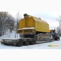 Перевозка комбайнов тракторов гусеничных кранов МКГ 25БР РДК 250 экскаваторов Черновцы