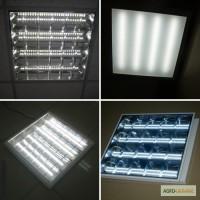 Офисный светодиодный светильник, растровый светильник