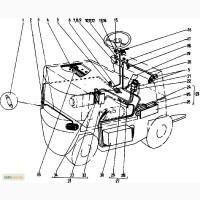 Электрооборудование с импульсным регулятором скорости на погрузчик Балканкар ЕВ 687