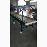 Сортировочный конвейер ленточный переборочный стол