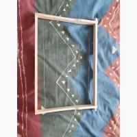 Изготовляем ульевую рамку в сборе и натянутую проволокой