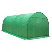 Теплица арочная пленка армированная зеленая 24м2