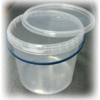 Ведро пластиковое 10л прозрачное
