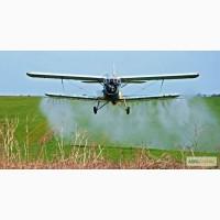 Внесение гербицидов самолетами малой авиации
