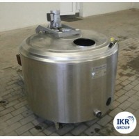 Охолоджувач молока Б / У ALFA LAVAL на 300 літрів відкритого типу