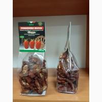 Продам томаты (помидоры) вяленые, половинки в ящике 10 кг