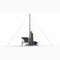 Теплогенератор для зернових сушарок на біопалеві