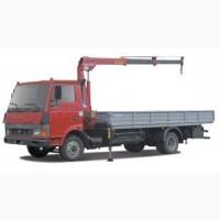 Вантажні перевезення до 5 тон(з маніпулятором)