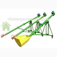 Шнек (шнековый погрузчик) ПШ-140, 5 метров, 1, 5 кВт, 380В. 8 тонн/час. Гарантия 12 мес