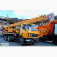 Новый автокран КС-5571BY-C-22 Машека 32 тонны на шасси МАЗ