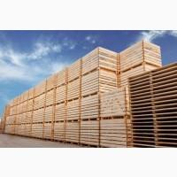 Ящик деревянный, контейнер деревянный
