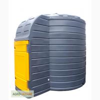 Резервуар Swimer для дизельного топлива ДТ 10000 литров с топливораздаточным узлом Piusi