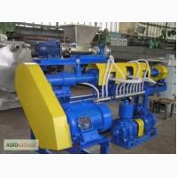Прес-гранулятор ЧП-100 з подрібнювачем для переробки зеленої маси