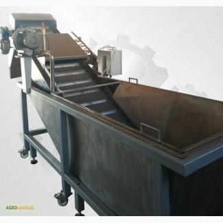 Барботажная мойка моечная машина промышленная для мойки овощей ягод фруктов орехов