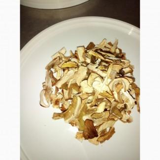 Білі гриби (шматочками) сушені великовагова упаковка Дари Гуцульщини