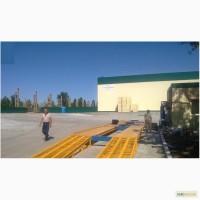 Весы автомобильные бесфундаментные 18 м 80 тонн